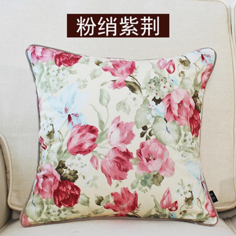 kangfeng Золотой цвет подушки декоративные рюшаль подушка