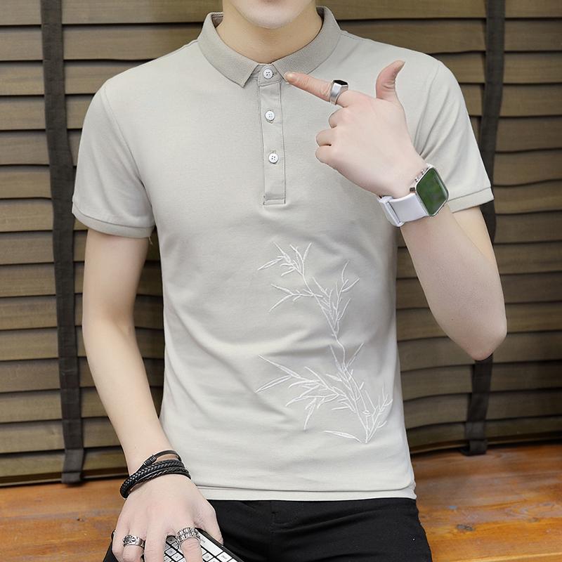 DaMaiZhang Легкий хаки XL рубашка мужская shirt thousand feet 018