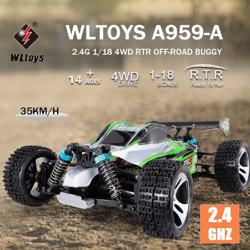 GoolRC Blue hsp remote control toys baja backwash 1 10th scale nitro power advanced off road buggy 4wd rc hobby car 94166