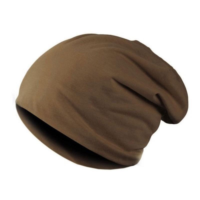 CXSHOWE Кофейный new unisex knitting beanie hat two sided warmed winter casual sports cap