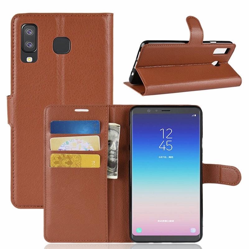 WIERSS коричневый для Samsung Galaxy A8 Star blackview a8 смартфон