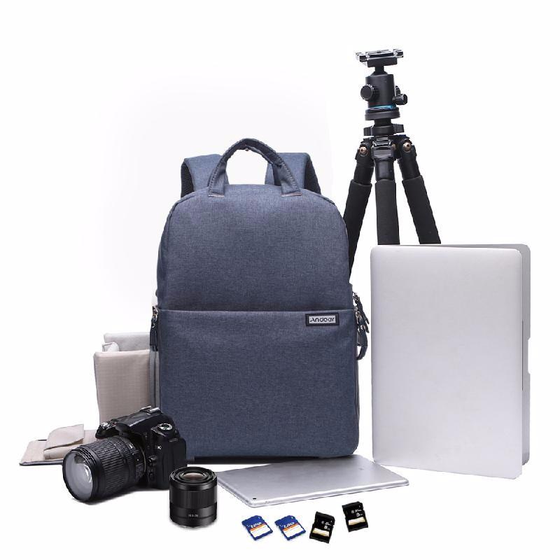 Фото - ANDOER Серый сумка для видеокамеры rush r6701 dslr canon nikon sony w2346