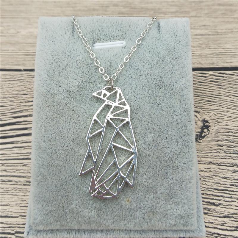 Мода ожерелье моды ювелирные изделия ожерелье ювелирные изделия женщин ожерелье e l f i n Silver унисекс фото