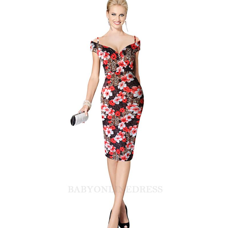babyonline DRESS красный M буэнос ниньос пояс оформлены юбку карандаш с коротким рукавом платье длиной до колен
