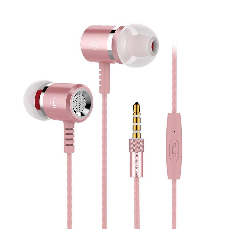 yuerlian Розовый цвет наушники audio technica ath ls50is 15119537 внутриканальные наушники red