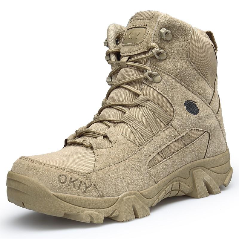 SHENGSUWANG Зеленый 41 новые тактический модные комфорт кожа боевые военная ботильоны армии обувь