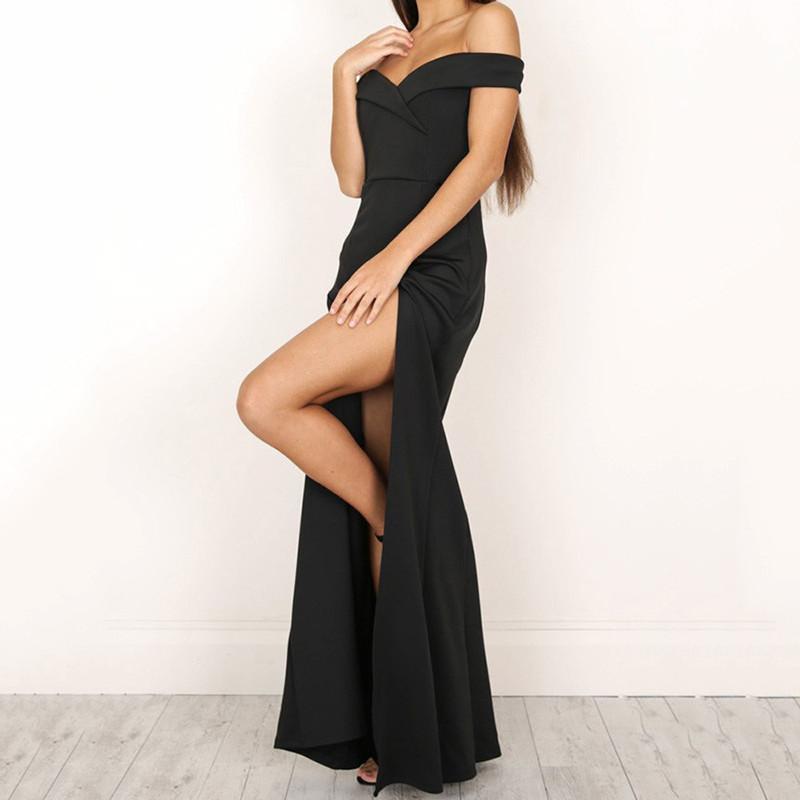 Платье FIRSTSELLER Черный XL фото
