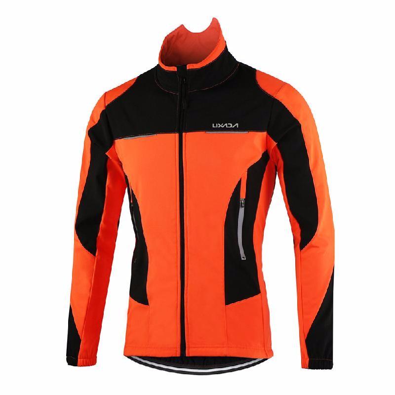 Lixada оранжевый M женская одежда для спорта
