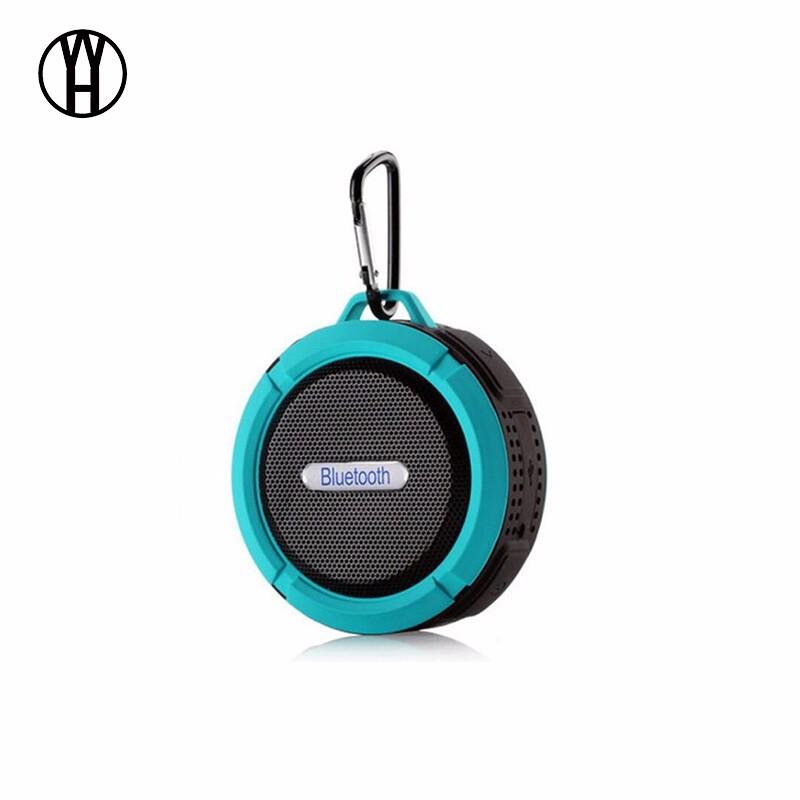 WH Синий цвет водонепроницаемый портативный стерео звук динамик bluetooth pioneer pioneer momo может впитывать большой синий