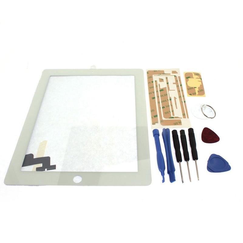 FIRSTSELLER белый сенсорный экран стеклом дисплей для замены планшета ipad мини инструментов