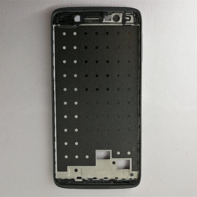 BestNull черный 5 2inch поверхностный фрейм телефон раковина средней рамы поверхностная оболочка для alcatel one touch idol 4 lte 6055 6055p 6055y