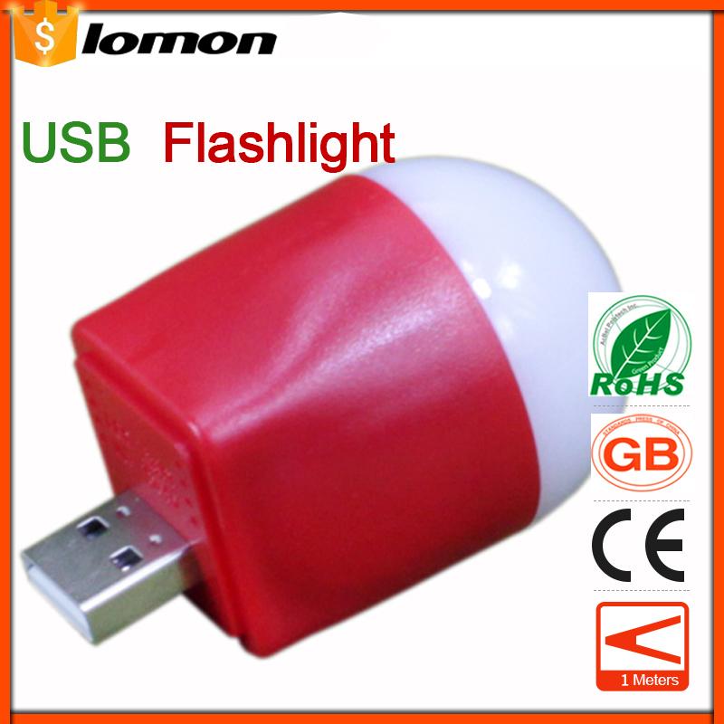 lomon Красный 50m n19 mobile 2600mah power bank 1 led white flashlight light blue