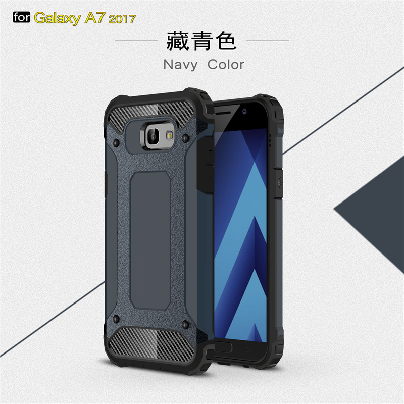 goowiiz темно-синий Samsung Galaxy A720 A7 2017