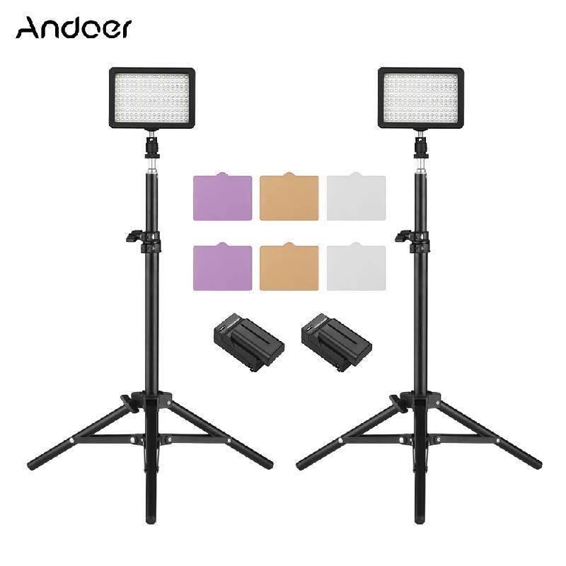 Светодиодный светильник Andoer LED ANDOER черный Стандарт США фото