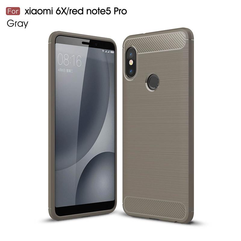 KYKEO Серый Xiaomi redmi note5pro for xiaomi red rice note5 pro black matte tpu phone case