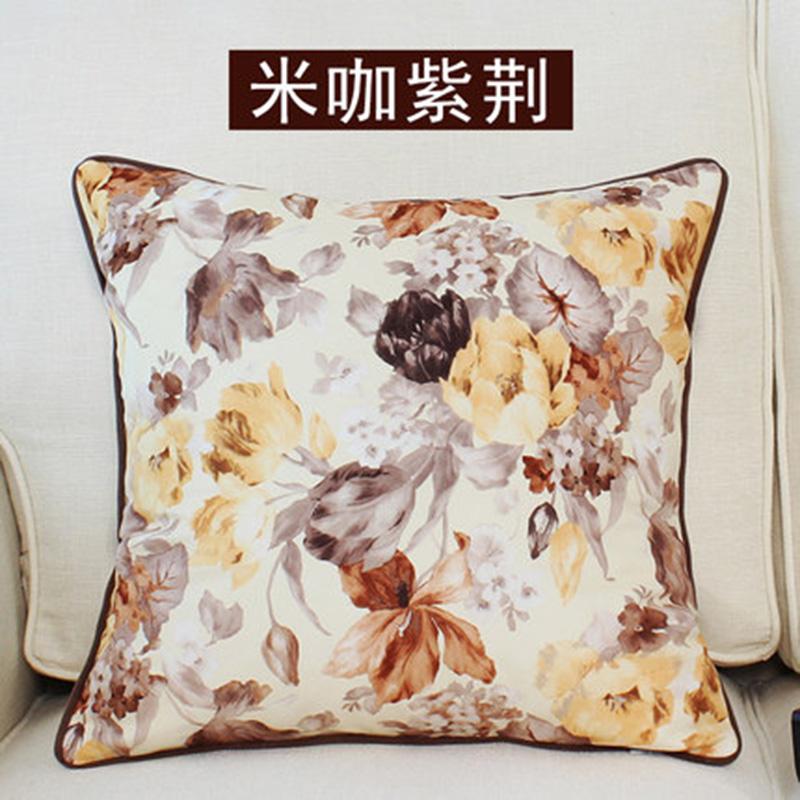 kangfeng Красный цвет подушки декоративные рюшаль подушка
