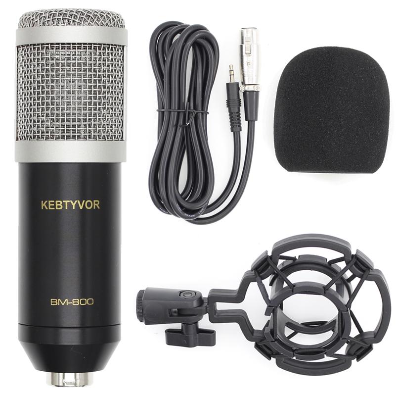 KEBTYVOR Черный серебристый Проводной доступ микрофон defender mic 142 64142