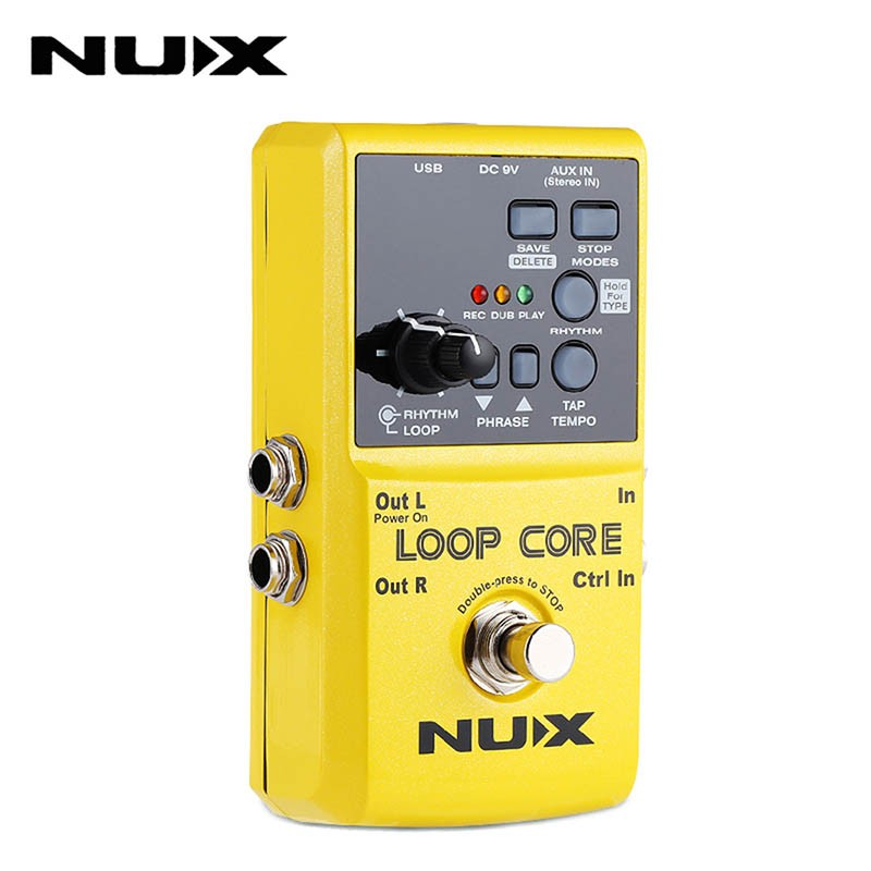 NUX nux roctary force simulator polyphonic octave stomp boxes electric guitar effect pedal fet buttered tsac true bypass