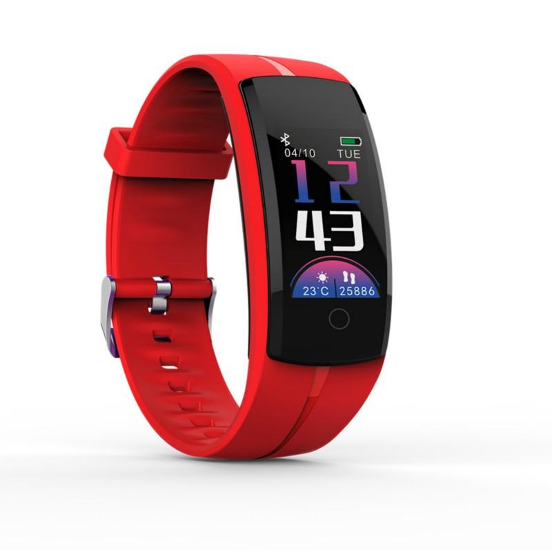 SANDN Red [официальная глобальная версия] оригинальный xiaomi mi band 2 oled вызов сердечного ритма напомнить ip67 водонепроницаемый смарт браслет для android