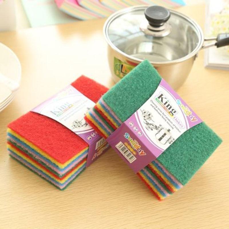kangfeng vigan 100 pcs lot high quality melamine sponge magic sponge eraser dish cleaner for kitchen office bathroom cleaning 10x6x2cm