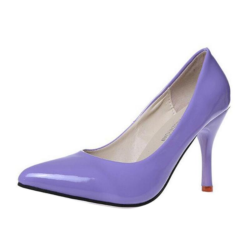 Gaorui фиолетовый40 75 ярдов высокие каблуки