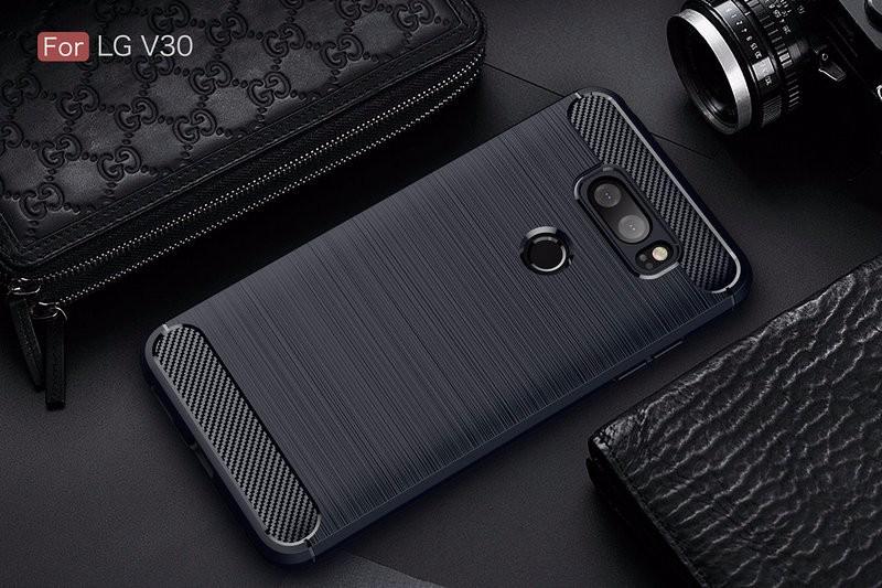 WIERSS Темно-синий смартфон lg v30 128gb фиолетовый lgh930ds acisvi