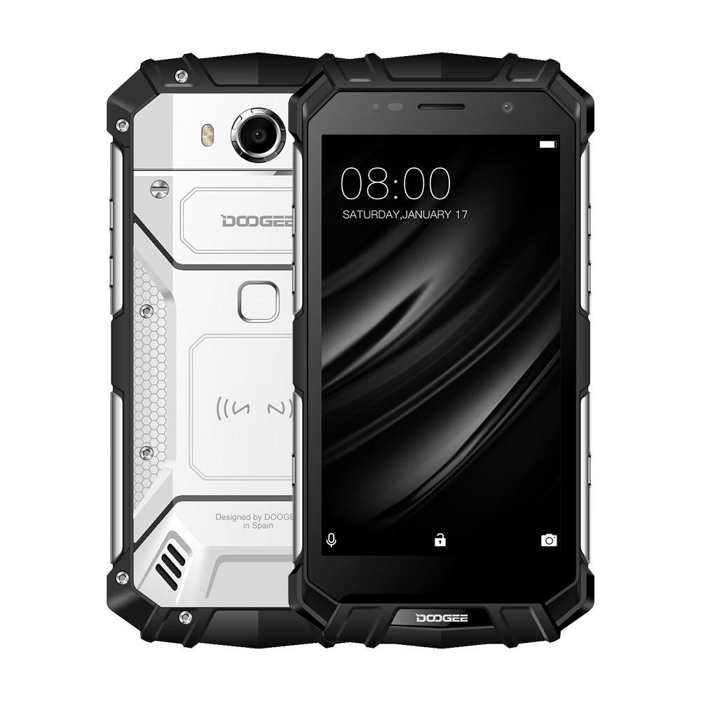 Сверхмощный смартфон DOOGEE S60 doogee phone DOOGEE Серебряный 4ГБ фото