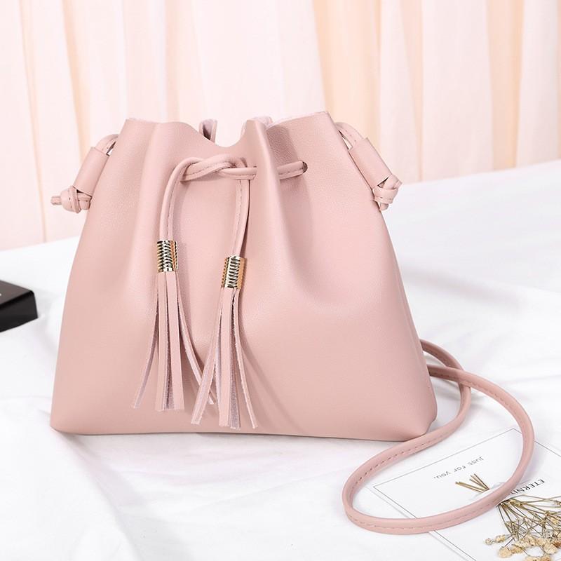 Giantex розовый женщины pu кожа сумочкакожаные сумки messenge