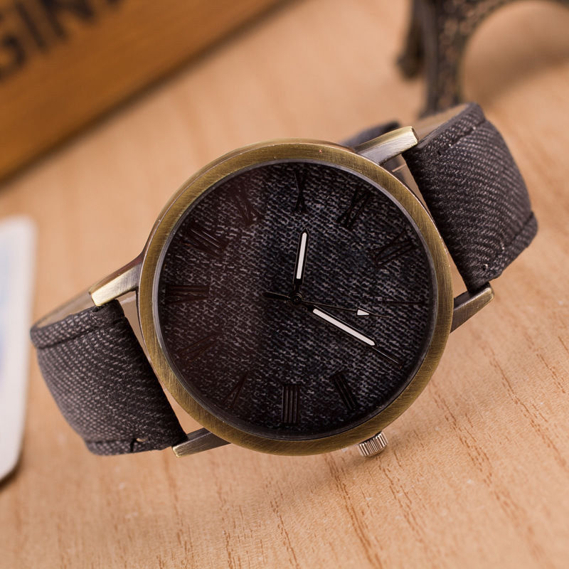 Кожаный наручные часы наручные часы наручные часы наручные часы наручные часы наручные часы наручные часы наручные CANIS черный фото