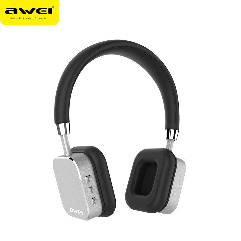 AWEI Серый беспроводные наушники monster isport freedom wireless bluetooth on ear green