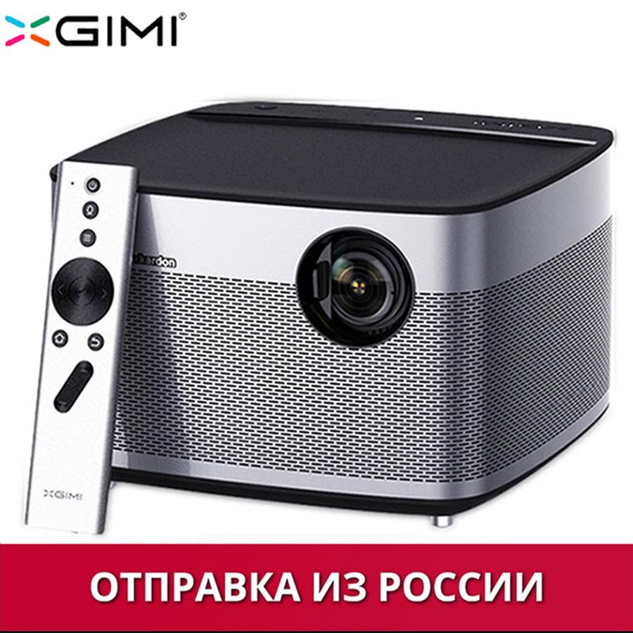 Стандарт США xgimi h1 dlp проектор 1920x1080 full hd затвора 3d поддержка 4k видеопроектора android 5 1 bluetooth wifi домашний кинотеатр beamer