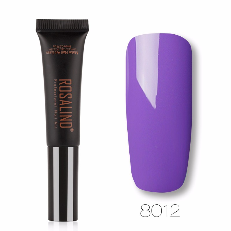 Лак для ногтей ROSALIND Пурпурный фото