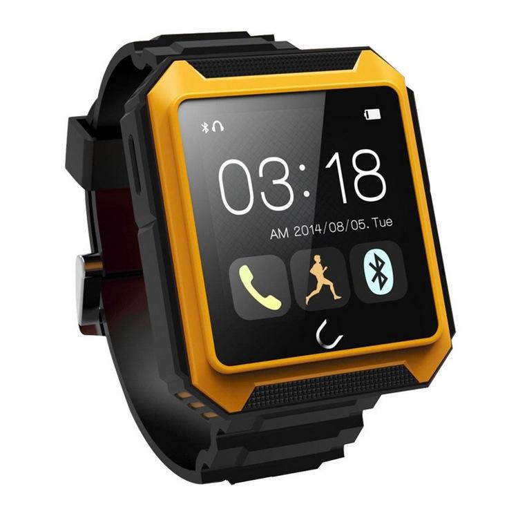 Uwatch Оранжевый цвет умные часы