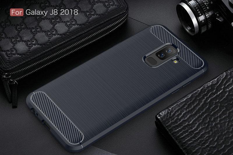 WIERSS Темно-синий для Samsung Galaxy J8 2018 планшет samsung galaxy tab a sm t350 sm t350nzkaser