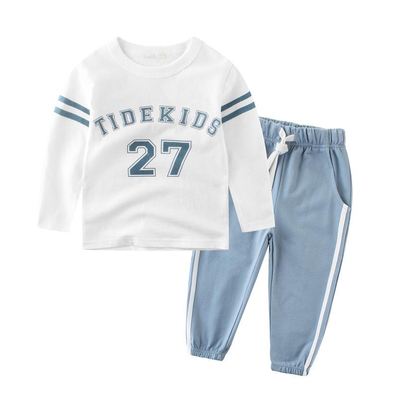 Blue 4T костюм маленькой обезьянки для мальчиков 32 34