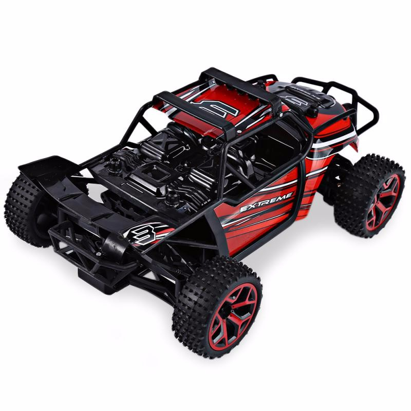 GBTIGER Red 1 12 4wd rc cars updated version 2 4g radio control rc cars toys buggy 2017 high speed trucks off road trucks toys for children