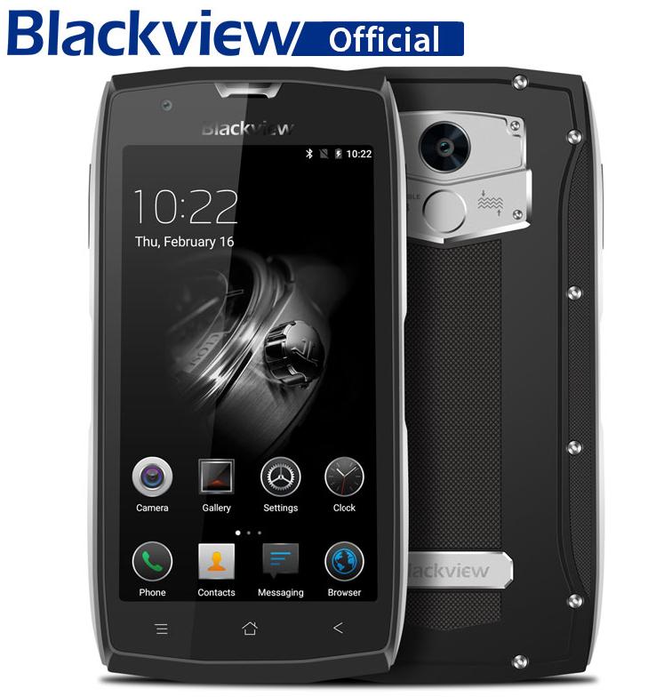 Прочный смартфон прочный телефон сотовый телефон разблокирован двойной телефон sim 4g телефон Blackview Серебряный Стандарт ЕС фото