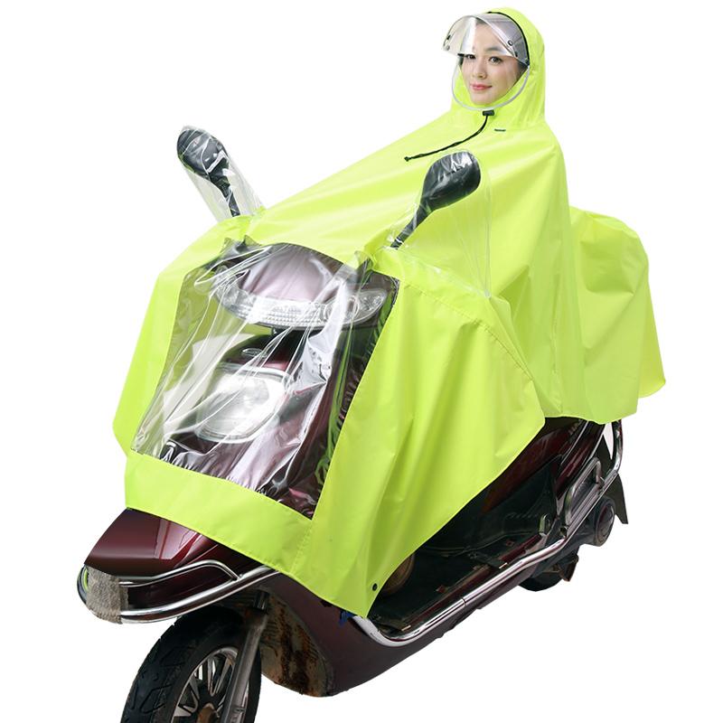 JD Коллекция Аинг Хуан kendo открытый верховая езда взрослый велосипед плащ мужской и женский одиночный пончо увеличить утолщение z 1 темно синий 3xl