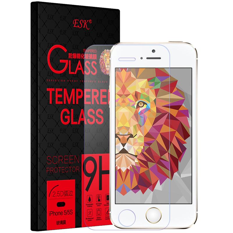 ESK iPhone 5 5s аксессуар защитное стекло onext eco для iphone 5 5s se 5c 43049