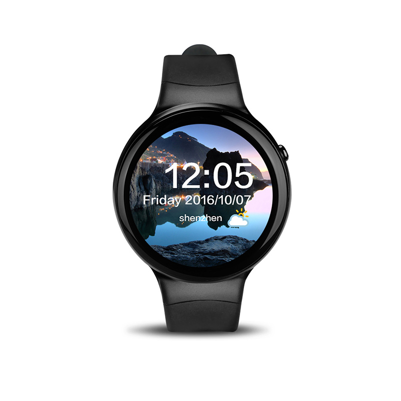 CHIGU черный 49 мм original smart watch android smartwatch heart rate monitor wearable device camera support 3g wifi gps rom 4gb ram 512mb