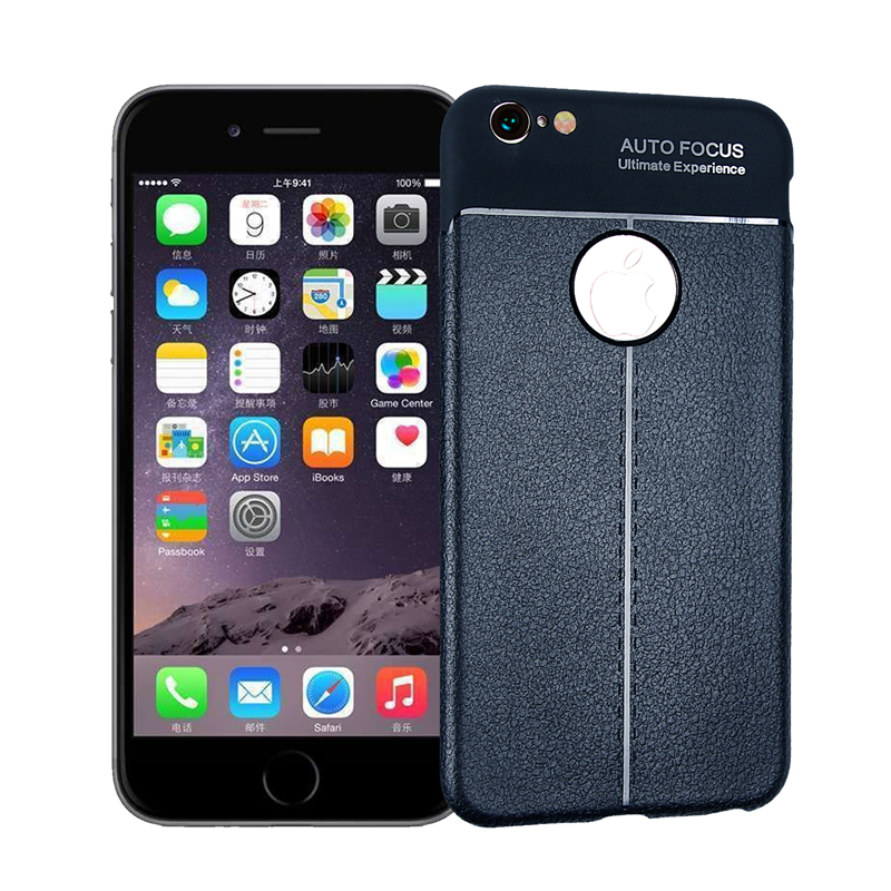goowiiz Темно-синий iPhone 6 6s gumai silky case for iphone 6 6s black