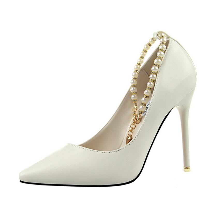 Gaorui Белый цвет 55 ярдов le royal кружева моды на высоких каблуках непромокаемые сапоги воды обувь g003 белый 39 ярдов