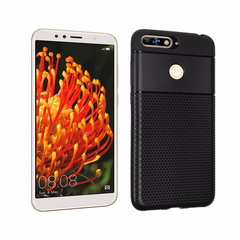 goowiiz черный HUAWEI Y7 2018 смартфон huawei y6 pro золотой
