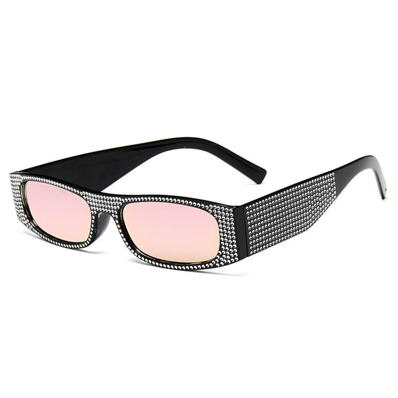 SHAUNA Бобби-розовое зеркало очки женские animal layback girls pink purple