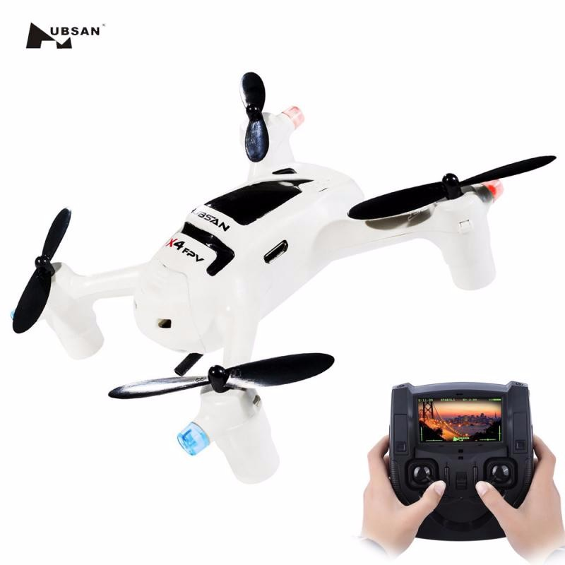 GBTIGER White hubsan fpv x4 plus h107d with 720p hd camera rc quadcopter rtf h107d plus drone with carry bag blades extra battery f16767 abcd