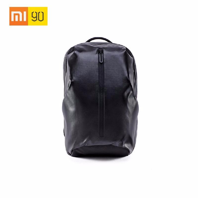 TOMSHOO черный универсальный new men business laptop backpack waterproof nylon casual computer student school bags rucksack travel notebook knapsack case 15