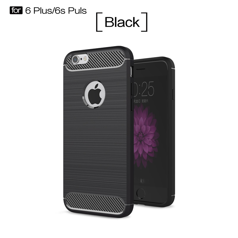 KYKEO Черный iPhone 6s Plus ultra thin pc hard back cover phone case for iphone 6 plus 6s plus
