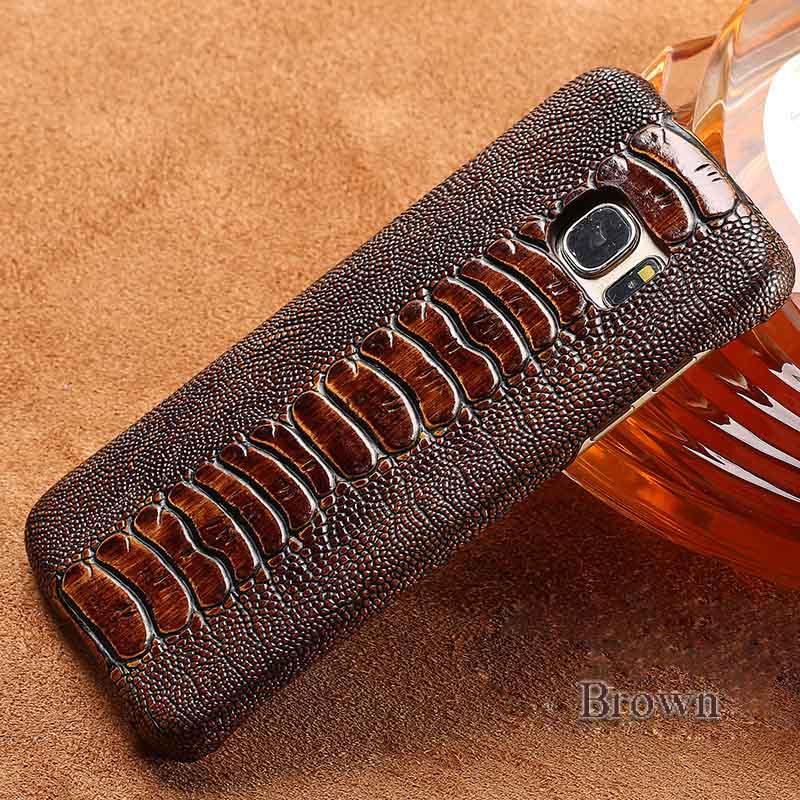 langsidi коричневый Samsung Galaxy S6 mooncase litchi skin золото chrome hard back чехол для cover samsung galaxy s6 edge красный