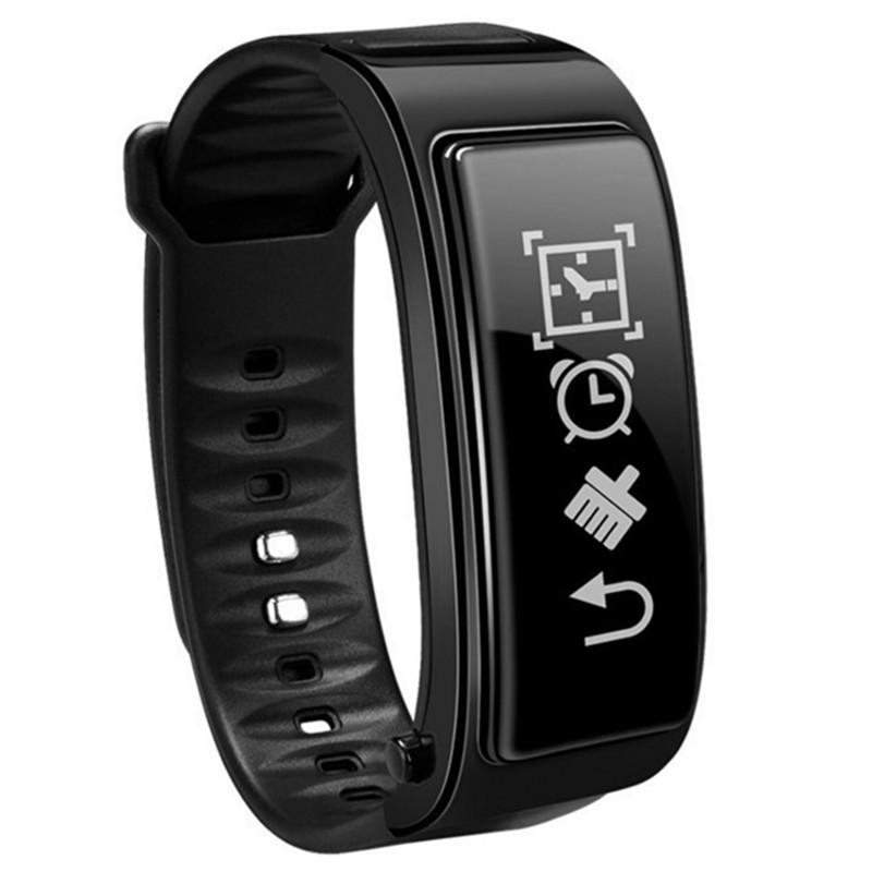 feizhouying черный Смарт-браслет ot01 in stock new original wristband bracelet with smart heart rate fitness touchpad oled screen 2016