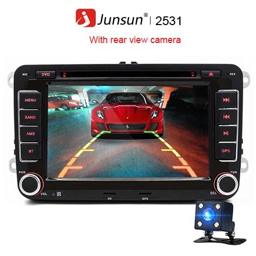 Junsun с камерой заднего вида Одноядерный процессор